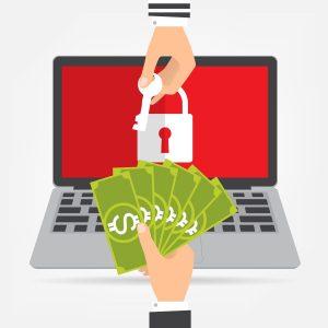 Ilustração Ransomware